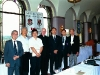 Vanc members with Fr Deignan
