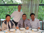Dinner with Father Stephen Chow and Dr. Matthew Chu (August 11, 2015)